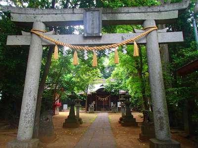 千葉県七百餘所神社 の鳥居