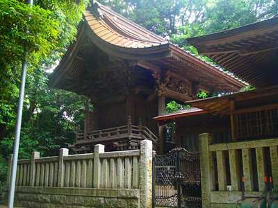 千葉県七百餘所神社 の本殿