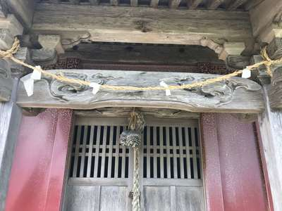能蔵院の近くの神社お寺|神社(名称不明)