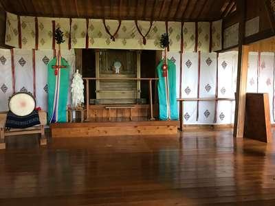 千葉県荒磯魚見根神社の本殿