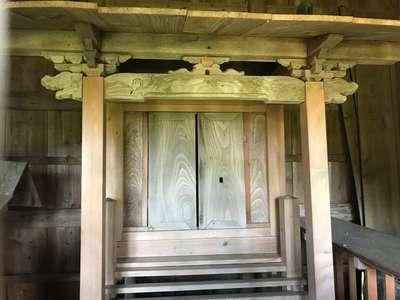 千葉県神明神社の本殿