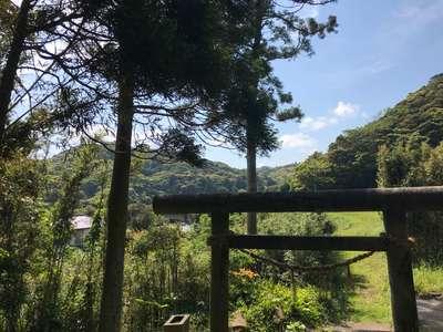 千葉県神明神社の鳥居