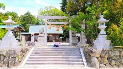 愛知県入見神社の鳥居