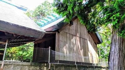 愛知県入見神社の本殿