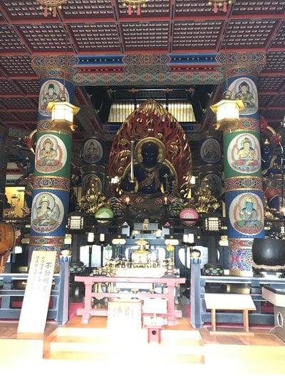 成田山新勝寺(千葉県成田駅) - 仏像の写真