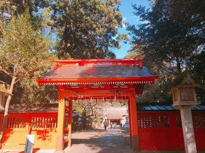 茨城県息栖神社の山門