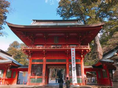 千葉県香取神宮の山門