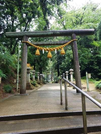 富山県気多神社の鳥居