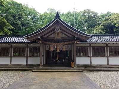 富山県気多神社の本殿
