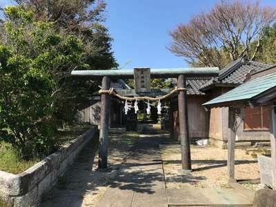 千葉県鹿嶋神社の鳥居