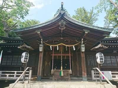 東京都多田神社の本殿