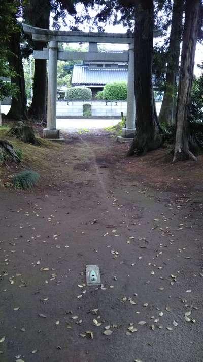 御城稲荷神社の鳥居