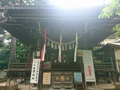 上高田氷川神社(東京都)