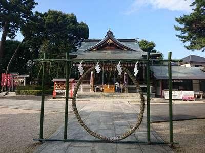 東京都沼袋氷川神社の本殿
