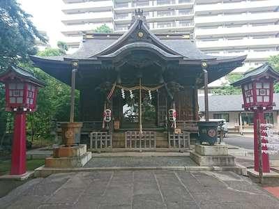 東京都江古田氷川神社の写真