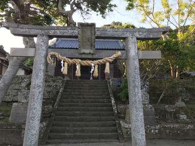 千葉県浅間神社の鳥居