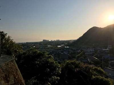浅間神社の景色