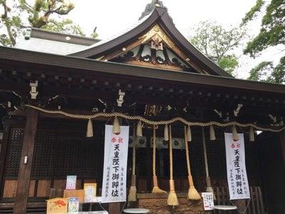 埼玉県鳩ヶ谷氷川神社の本殿