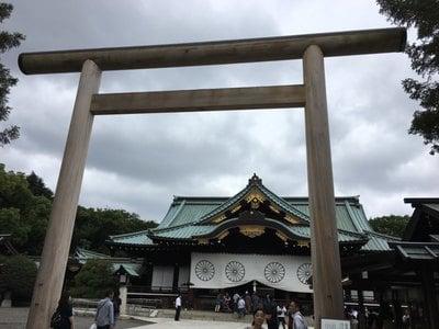 市谷亀岡八幡宮の近くの神社お寺|靖国神社