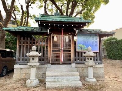 兵庫県諏訪神社の写真