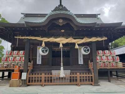 福岡県玉垂宮の本殿