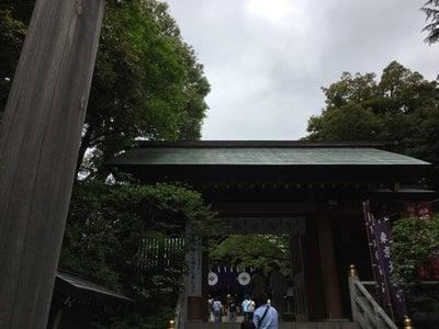東京都東京大神宮の山門