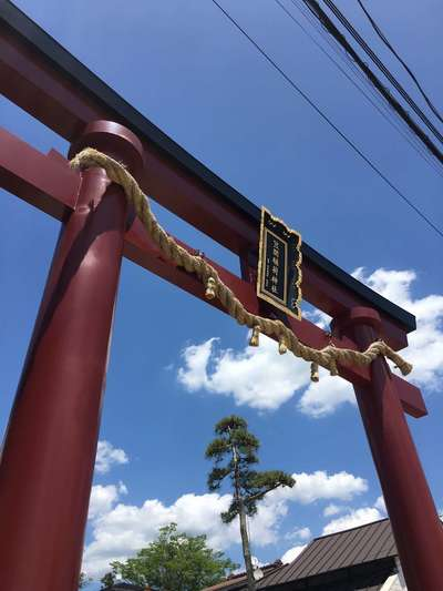 茨城県笠間稲荷神社の鳥居