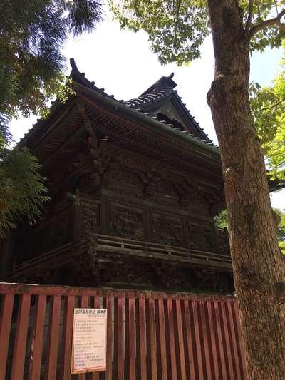 茨城県笠間稲荷神社の本殿