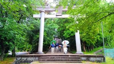 愛知県八柱神社の鳥居