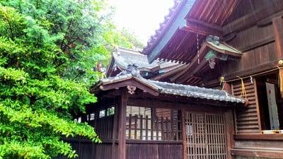 愛知県八柱神社の本殿