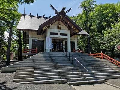 北海道手稲神社の本殿