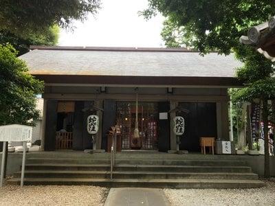 東京都上神明天祖神社の本殿