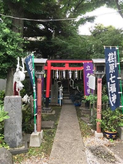 東京都上神明天祖神社の鳥居
