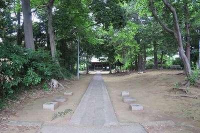 埼玉県氷室神社の写真