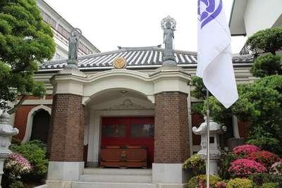 東京都勝専寺の本殿
