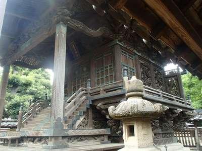 千葉県愛宕神社の本殿