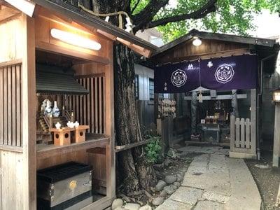 愛知県白龍神社の本殿