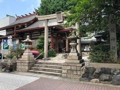 愛知県白龍神社の鳥居