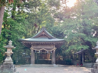 京都府小幡神社の本殿