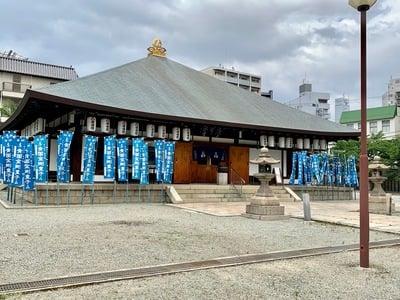 大阪府四天王寺庚申堂の本殿