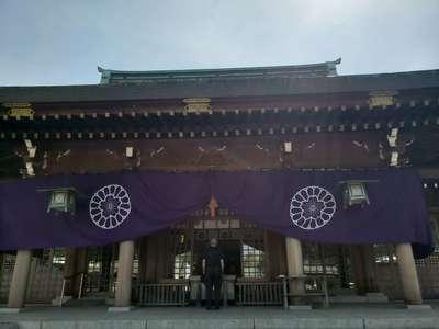 大分県大分県護国神社の本殿