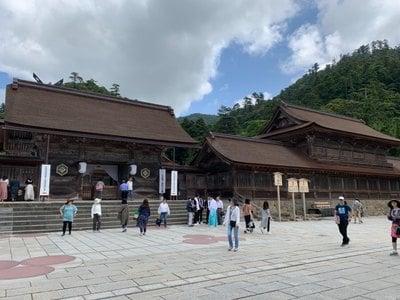 島根県出雲大社の本殿