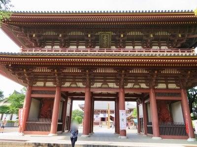 東京都池上本門寺の山門