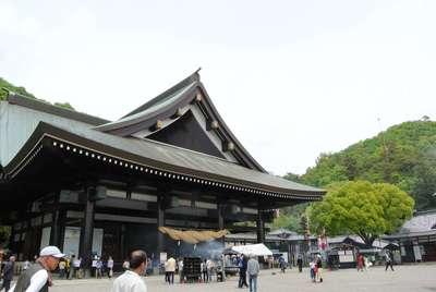 岡山県最上稲荷山妙教寺の本殿