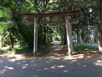 茨城県夷針神社の鳥居