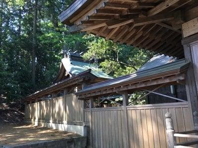 有賀神社の本殿