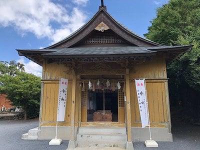 天手長男神社の本殿