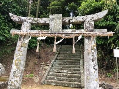 長崎県天手長比売神社の鳥居