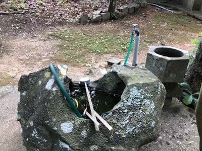 長崎県興神社の手水