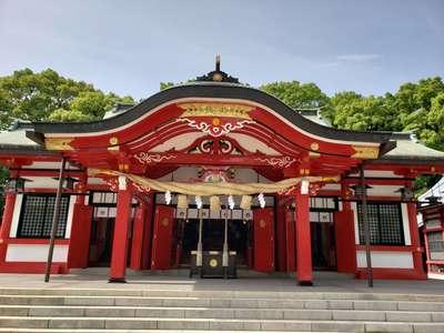 大分県春日神社の本殿